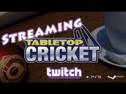 Cricket Tabletop